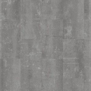 klik PVC Tegel betonlook grijs