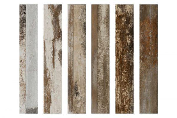 Wood z color mix vloer-/wandtegel 15×90