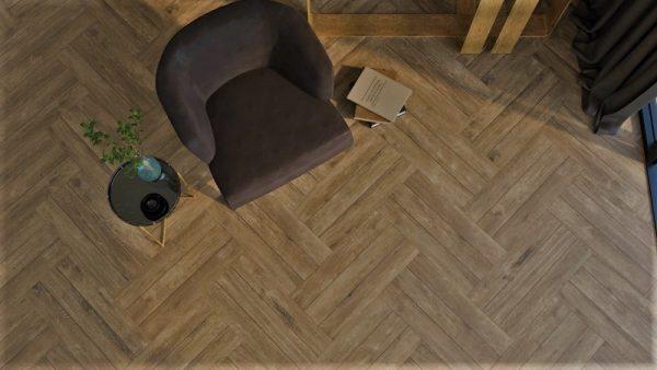 Nest almond bruin vloer-/wandtegel 33x66