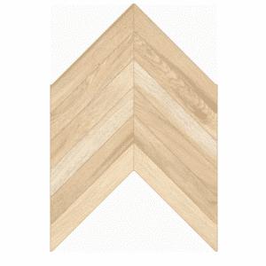 Visgraat vloer-/wandtegel mokka bruin 40x60