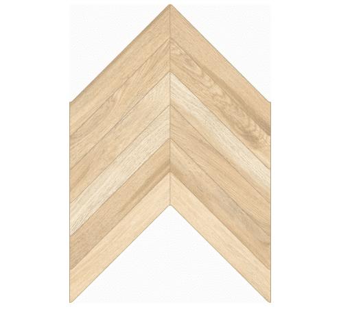 Visgraat vloer-/wandtegel Licht bruin