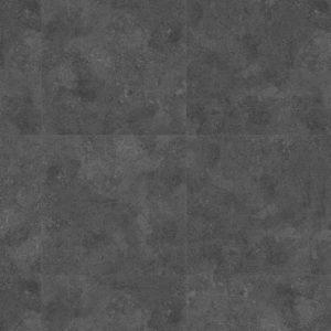 Klik PVC Tegelmotief Zwart 60x60 VCZ118802